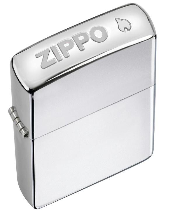 ZIPPO - CROWN STAMP HIGH POLISH CHROME (24750)
