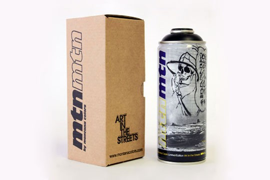 MTN LIMITED EDITION CAN - ART IN THE STREETS