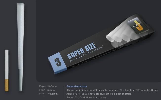 EMPTY CONES - 3 PACK JWARE SUPER SIZE