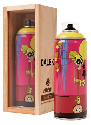 MTN LIMITED EDITION CAN - DALEK