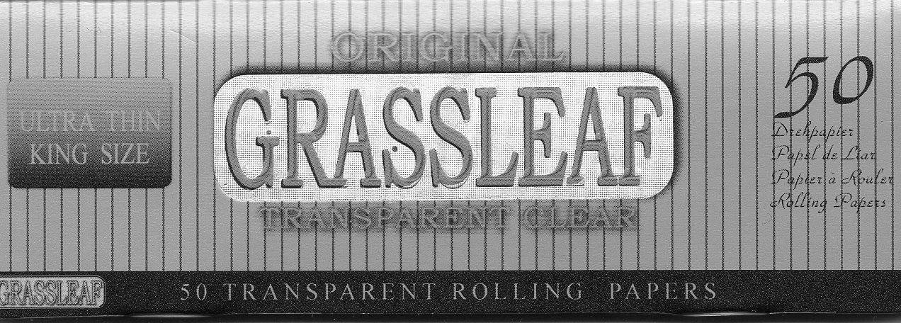 GRASSLEAF KINGSIZE - TRANSPARENT