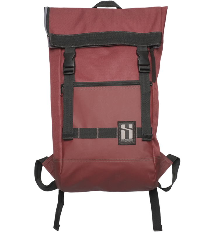Mr SERIOUS - TO:GO BACKPACK - BLACK / RED