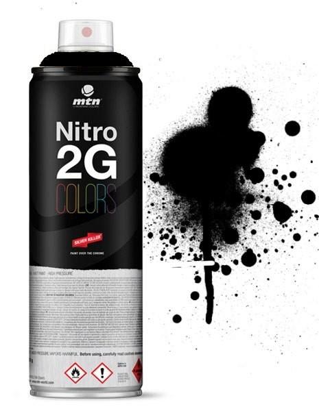 MTN MONTANA - NITRO 2G - 500ml (BLACK)