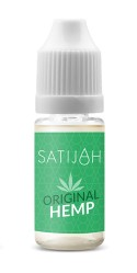 SATIJAH CBD E-LIQUID - ORIGINAL HEMP (50mg)