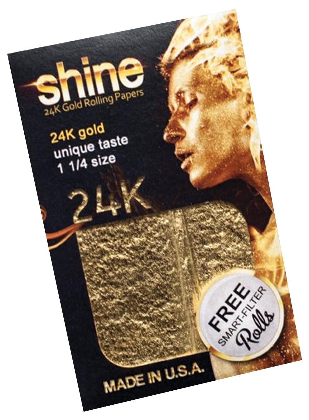 SHINE 24K 1.25 SIZE PAPER