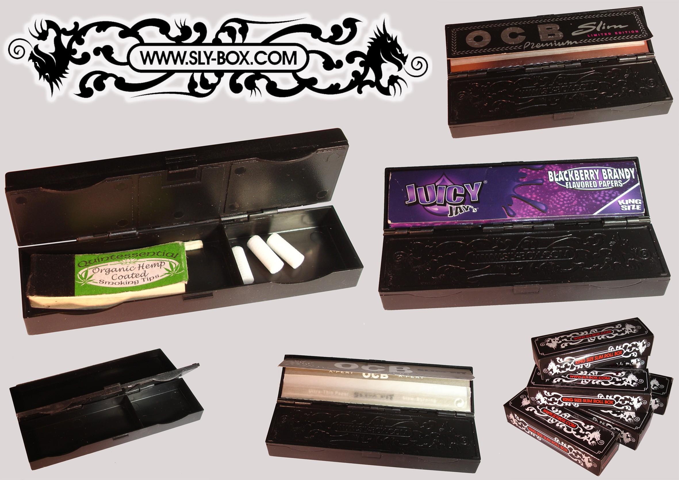 SLYBOX - King Size Slim Roll Box
