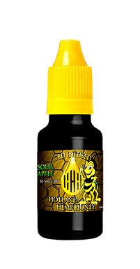 HOLLAND HEMP HONEY - 10ml CBD E-LIQUID - SOUR APPLE