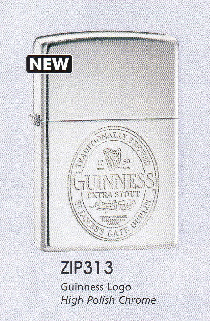 ZIPPO - GUINESS LABEL (250*)