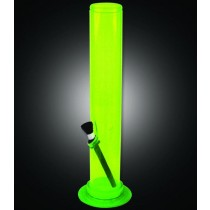 03631 - GREEN ACRYLIC BONG 32cm x 50mm