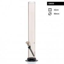 03635 - SMOKE ACRYLIC BONG 42cm x 50mm