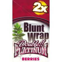 BLUNT WRAP DOUBLE PLATINUM - BERRIES