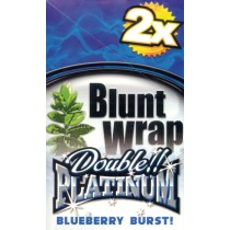 BLUNT WRAP DOUBLE PLATINUM - BLUEBERRY BURST