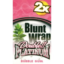 BLUNT WRAP DOUBLE PLATINUM - BUBBLEGUM