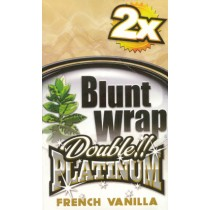 BLUNT WRAP DOUBLE PLATINUM - FRENCH VANILLA