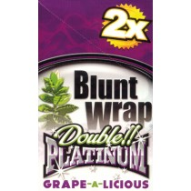 BLUNT WRAP DOUBLE PLATINUM - GRAPEALICIOUS
