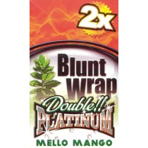 BLUNT WRAP DOUBLE PLATINUM - MELLO MANGO