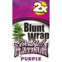 BLUNT WRAP DOUBLE PLATINUM - PURPLE