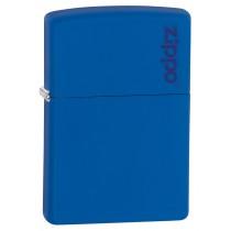 ZIPPO - ROYAL BLUE REGULAR w ZIPPO LOGO (229ZL)