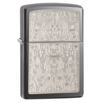ZIPPO - ORIENTAL ABSTRACT BLACK ICE (28469)