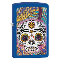 ZIPPO - DAY OF THE DEAD BLUE (28470)