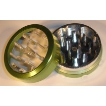 2 PART METAL WINDOW GRINDER- GREEN