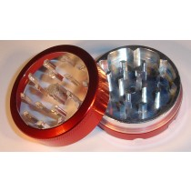 2 PART METAL WINDOW GRINDER- RED
