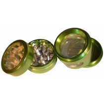 4 PART WINDOW GRINDER- GREEN