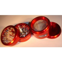 4 PART WINDOW GRINDER- RED