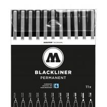 MOLOTOW - BLACKLINER Full 10 Marker Set