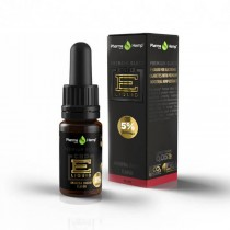 PHARMA HEMP - BLACK PREMIUM - CBD ELIQUID 10ml - 5% / 500mg
