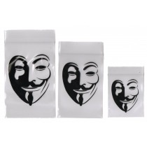 8cm x 12cm :Anonymous Grip Bags