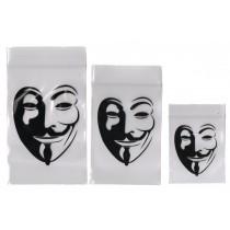 7cm x 10cm :Anonymous Grip Bags