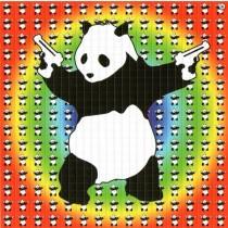 BANKSY PSYCHEDELIC PANDA - BLOTTER