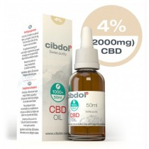 CIBDOL - CBD OIL 4% - 50ml