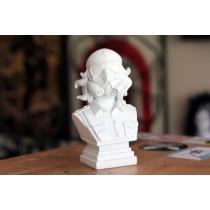 CheTrooper Artist Bust (WHITE)