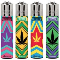 CLIPPER LIGHTER - COLOUR WEED