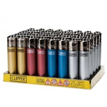 CLIPPER LIGHTER - SOLID METALLIC COLOURS