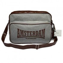 AMSTERDAM BIG CASUAL BAG - BROWN