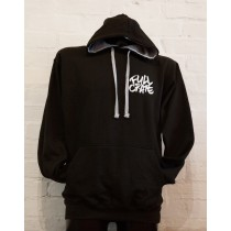 FULL CRATE LOGO HOODY - BLACK
