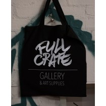 FULL CRATE TOTE BAG - BLACK