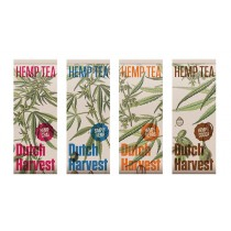 DUTCH HARVEST: HEMP TEA - 4 PACK SELECTION
