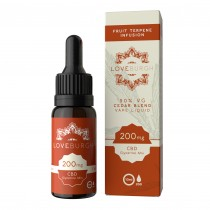 LOVEBURGH CBD VAPE JUICE - CEDAR BLEND (800mg)