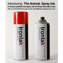 IRONLAK - ANIMAL INK RED 400ml