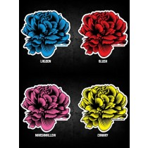 FAT PUNK STUDIO STICKER SET - PEONY