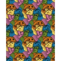 FIVE FISH PRINT - A2 (mm x mm)
