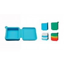 FLAT SQUARE 9ml SILICONE JAR