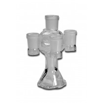GLASS DISPLAY STAND FOR BOWLS / STEMS