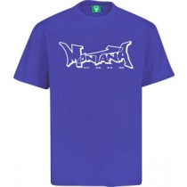 MONTANA LOGO T-SHIRT - PURPLE/GREY/BLACK