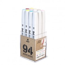 MTN 94 Graphic Markers - Pastel Set of 12