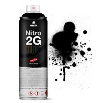 MTN MONTANA - NITRO 2G - 500ml (CHROME)